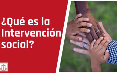Intervención social para generar cambios positivos