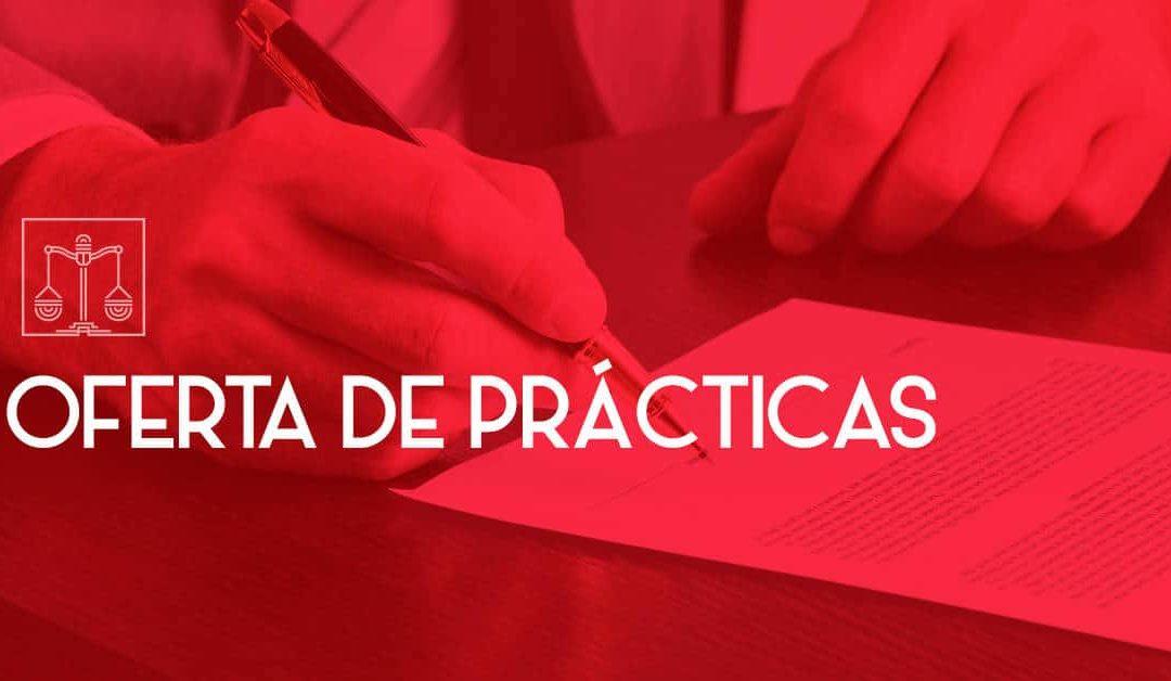 OFERTA DE PRÁCTICAS – DEPARTAMENTO DE PATENTES