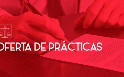 OFERTA DE PRÁCTICAS: RECEPCIÓN EN DESPACHO DE ABOGADOS
