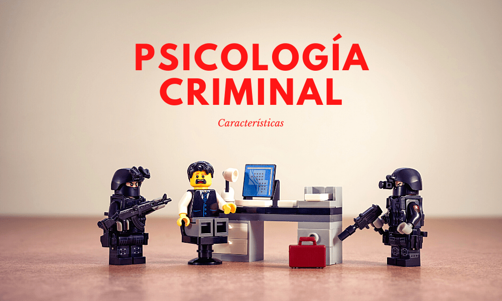 Aprende sobre psicología criminal y sus características